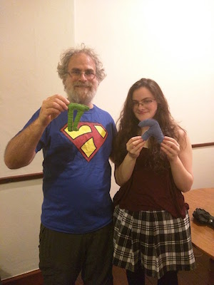 Philip Wadler and Daugter with Fuzzy Lambda